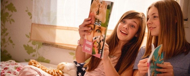 Magazine pour les filles de 3 à 14ans