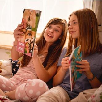 Magazines jeunesse réservés aux filles