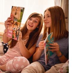 Des magazines réservés aux filles