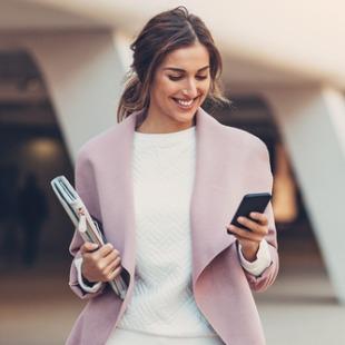 Magazines de business woman